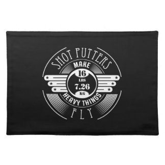 heavy things that fly placemat