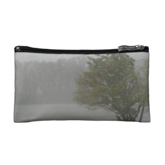 Heavy Windy Storm over a already Flooded Lake Cosmetic Bags