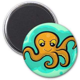 Heba the Octopus Character Magnet