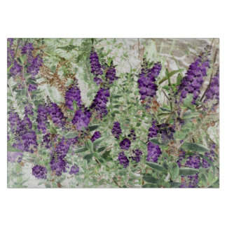 Hebe Lavendar glass cutting board