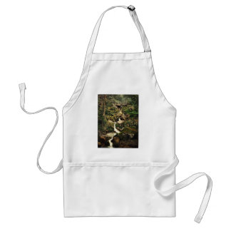 Heber's Ghyll, Ilkley, England classic Photochrom Adult Apron