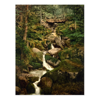 Heber's Ghyll, Ilkley, Yorkshire, England Postcard
