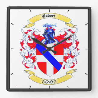Hébert Family Crest Heirloom Clock