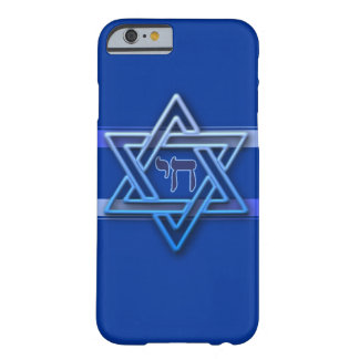 Hebrew Chai Jewish Star Of David Barely There iPhone 6 Case