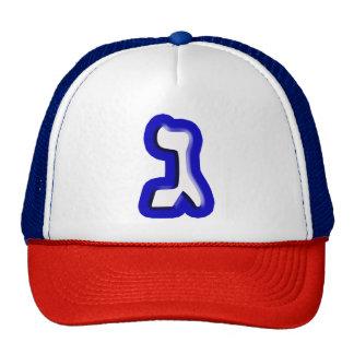"""Hebrew Letter """"Gimel"""" Cap"""