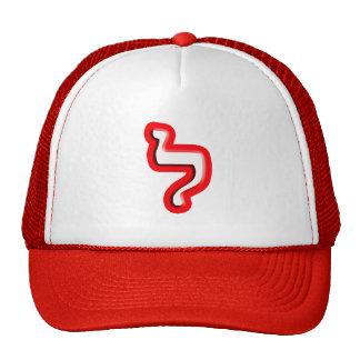 """Hebrew Letter """"Lamed"""" Cap"""