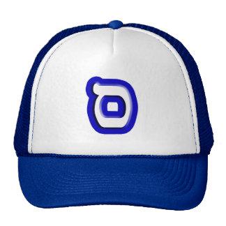 """Hebrew Letter """"Samech"""" Cap"""