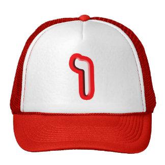 "Hebrew Letter ""Vav"" Cap"