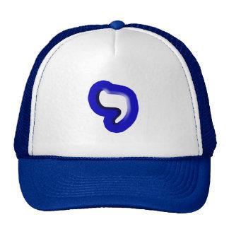 "Hebrew Letter ""Yud"" Cap"