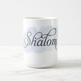 Hebrew - Shalom Coffee Mugs