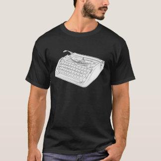 Hebrew Typewriter T-Shirt