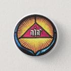 HebrewNameOfGod 3 Cm Round Badge