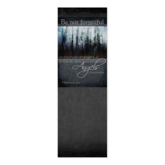 Hebrews 13:2 Angel Quote Business Card Template