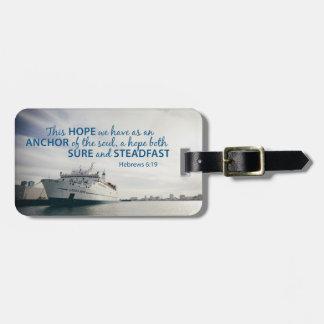 Hebrews 6:19 Luggage Tag
