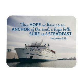Hebrews 6:19 Magnet