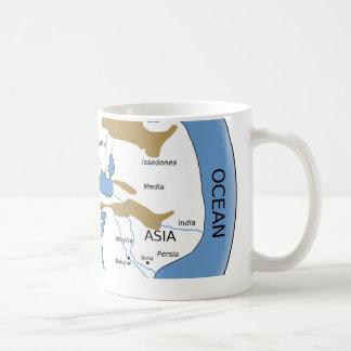Hecataeus world map - Old world map Coffee Mugs