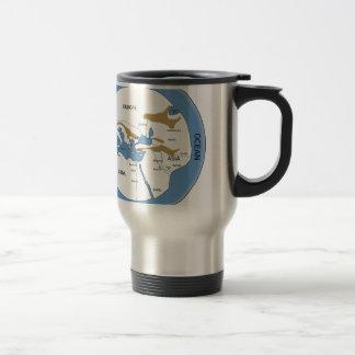 Hecataeus world map - Old world map Mug