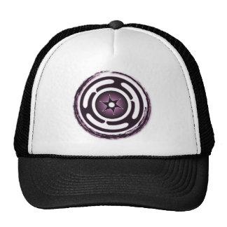 Hecate s Wheel Purple Caps Mesh Hat