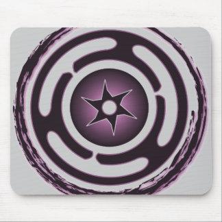 Hecate's Wheel (Purple) Mousepad