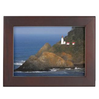 Heceta Head Lighthouse, Cape Creek, Oregon, USA Keepsake Box
