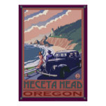 Heceta Head Lighthouse, Oregon Coast Poster