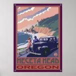 Heceta Head Lighthouse, Oregon Coast Poster