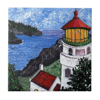Heceta Head Lighthouse Tile