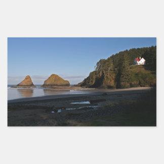 Heceta Head, Oregon Rectangular Sticker