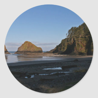 Heceta Head, Oregon Round Sticker