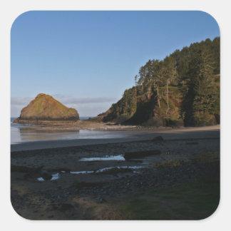 Heceta Head, Oregon Square Sticker