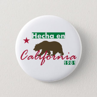 Hecha en California 6 Cm Round Badge