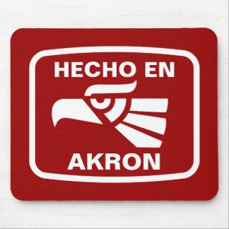 Hecho en Akron personalizado custom personalized Mouse Pad