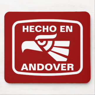 Hecho en Andover personalizado custom personalized Mouse Pads
