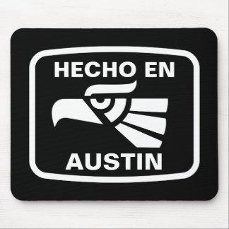Hecho en Austin personalizado custom personalized Mouse Mats
