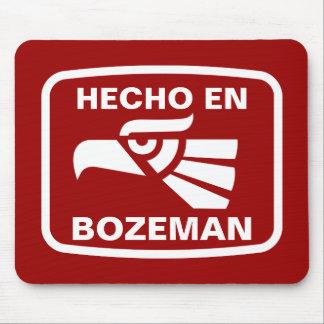 Hecho en Bozeman personalizado custom personalized Mouse Mat