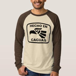 Hecho en Caguas personalizado custom personalized T Shirt