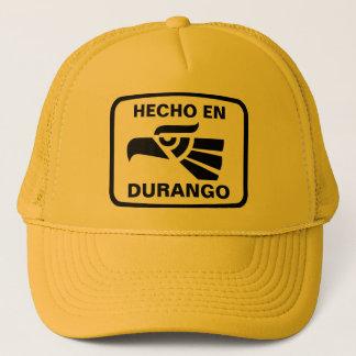 Hecho en Durango personalizado custom personalized Trucker Hat