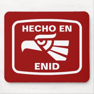 Hecho en Enid personalizado custom personalized Mouse Mat