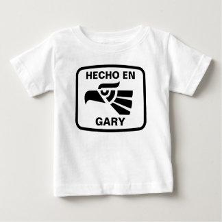 Hecho en Gary personalizado custom personalized Tshirts