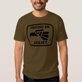 Hecho en Joliet personalizado custom personalized T Shirts