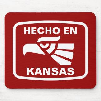 Hecho en Kansas personalizado custom personalized Mouse Pad