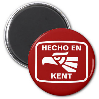 Hecho en Kent personalizado custom personalized Refrigerator Magnets