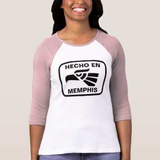 Hecho en Memphis personalizado custom personalised T-shirts