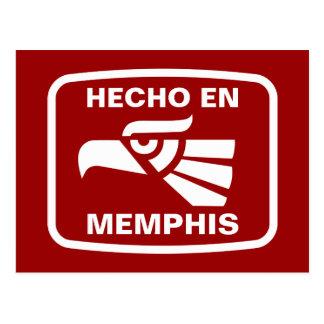 Hecho en Memphis personalizado custom personalized Postcard
