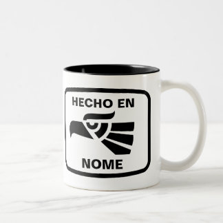 Hecho en Nome personalizado custom personalized Mugs