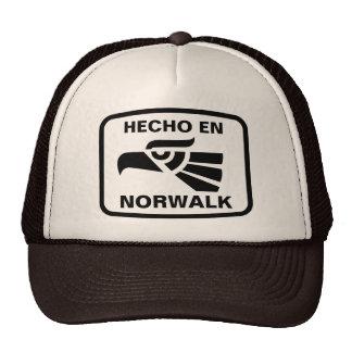 Hecho en Norwalk personalizado custom personalized Trucker Hat
