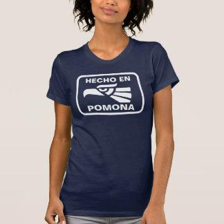 Hecho en Pomona personalizado custom personalized T-Shirt