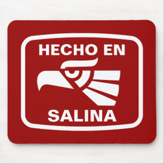Hecho en Salina personalizado custom personalized Mouse Pad