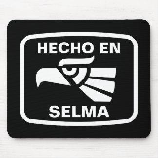 Hecho en Selma personalizado custom personalized Mouse Mat