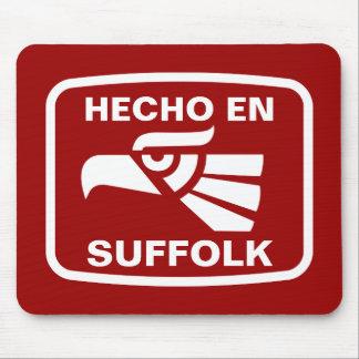 Hecho en Suffolk personalizado custom personalized Mouse Pads